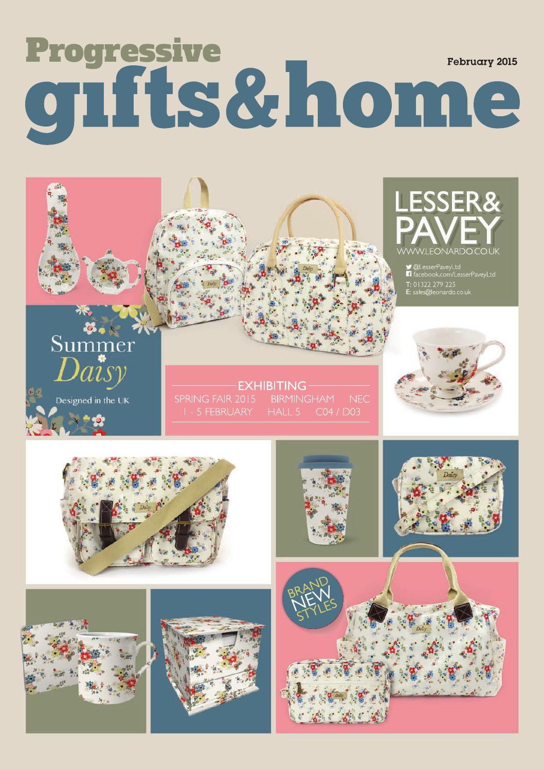 da35f554e3ef14 Progressive Gifts and Home February 2015 by Max Publishing - issuu