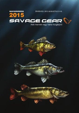 ca79d6b5d Savage Gear horgászcikk katalógus (magyar) 2015