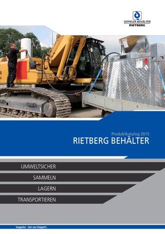 Rietberg Behälter – Produktkatalog 2015 by seitenweise online ...