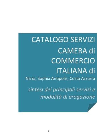 Catalogo servizi ccie nizza 2015 by chambre de commerce - Chambre de commerce italienne de nice ...