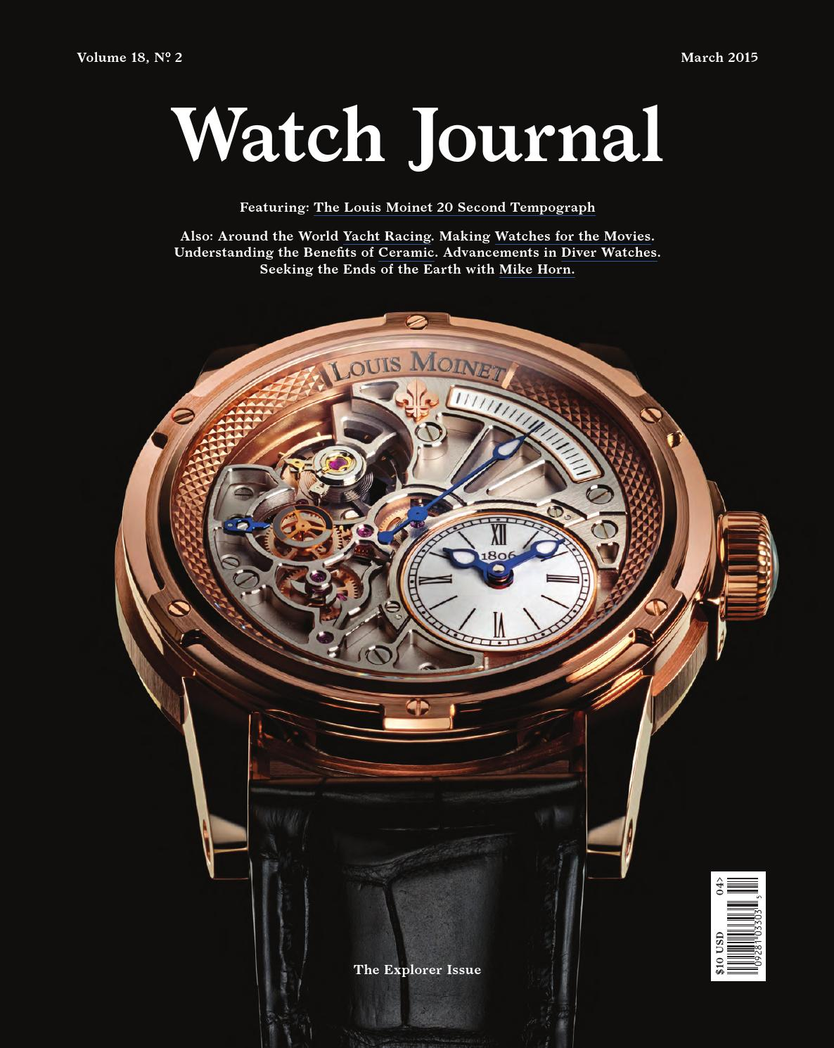 d3d7a7ff6c7 Watch Journal March 2015 by Watch Journal - issuu