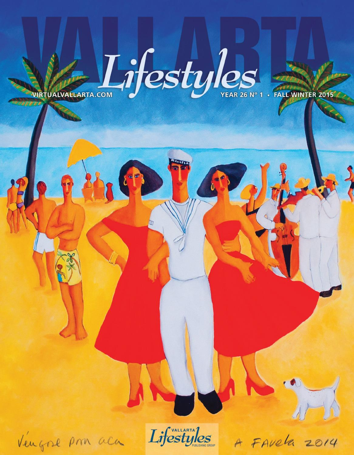 Vallarta Lifestyles Winter Spring Issue 2015 By Vallarta  # Muebles Pitillal