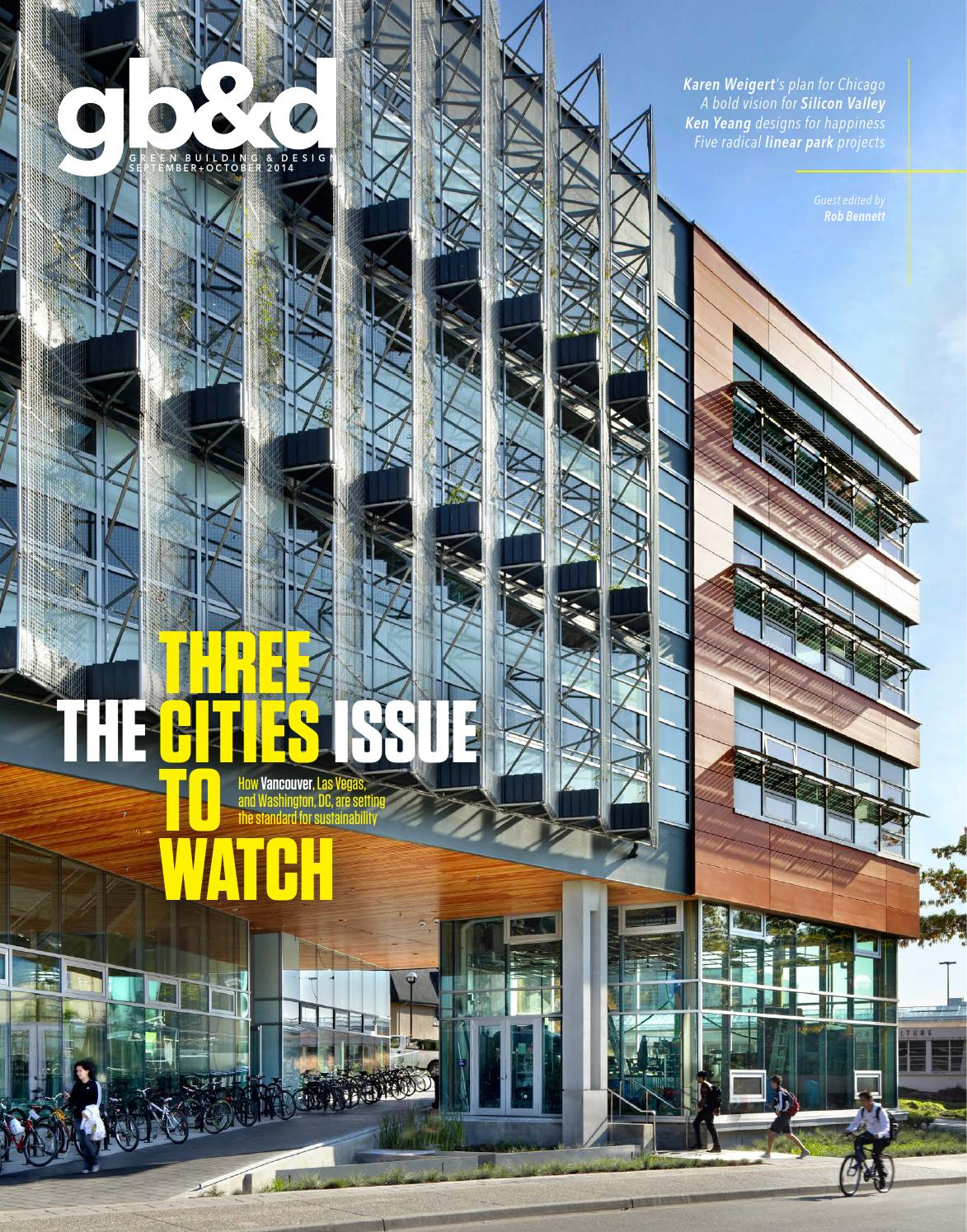 Gb Amp D Issue 29 September October 2014 By Green Building