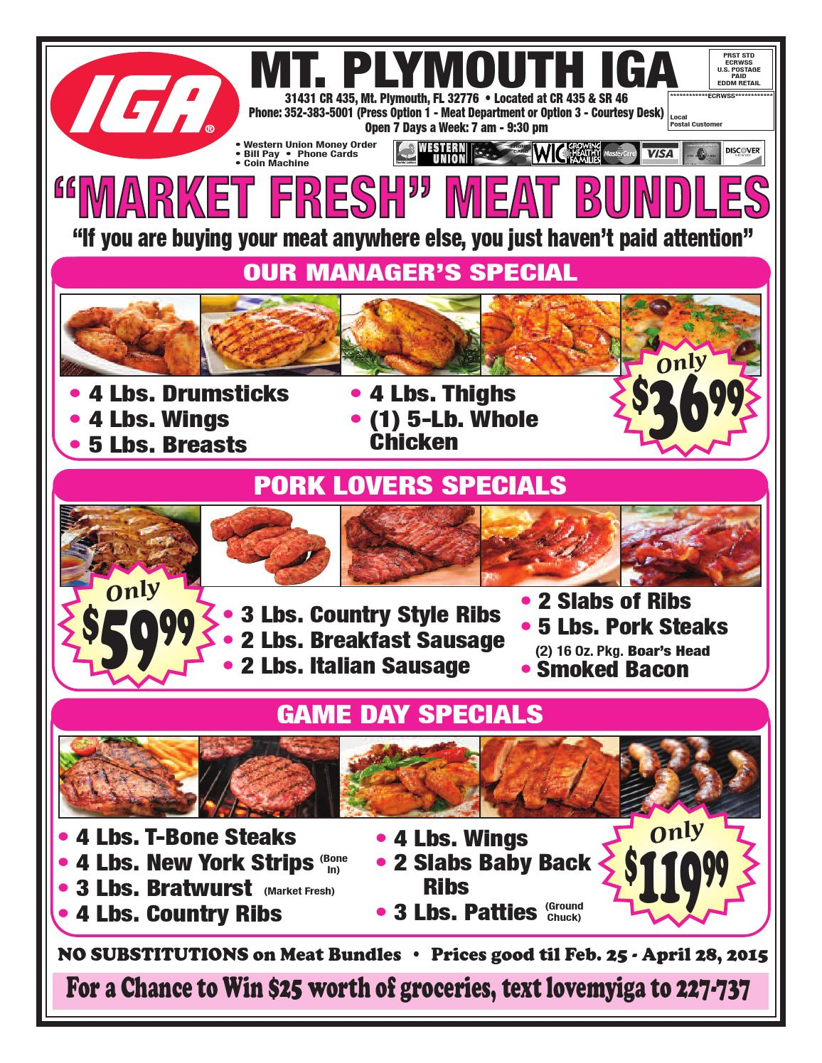 Mt PlymouthMeatBundles 022515 pdf by CasperSMS - issuu