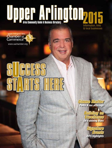 Upper Arlington Area Community Guide & Business Directory 2015