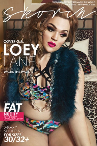 4e6759696c Loey Lane in SwimSexy Plus Size Fashion Magazine by SKORCH MAGAZINE ...