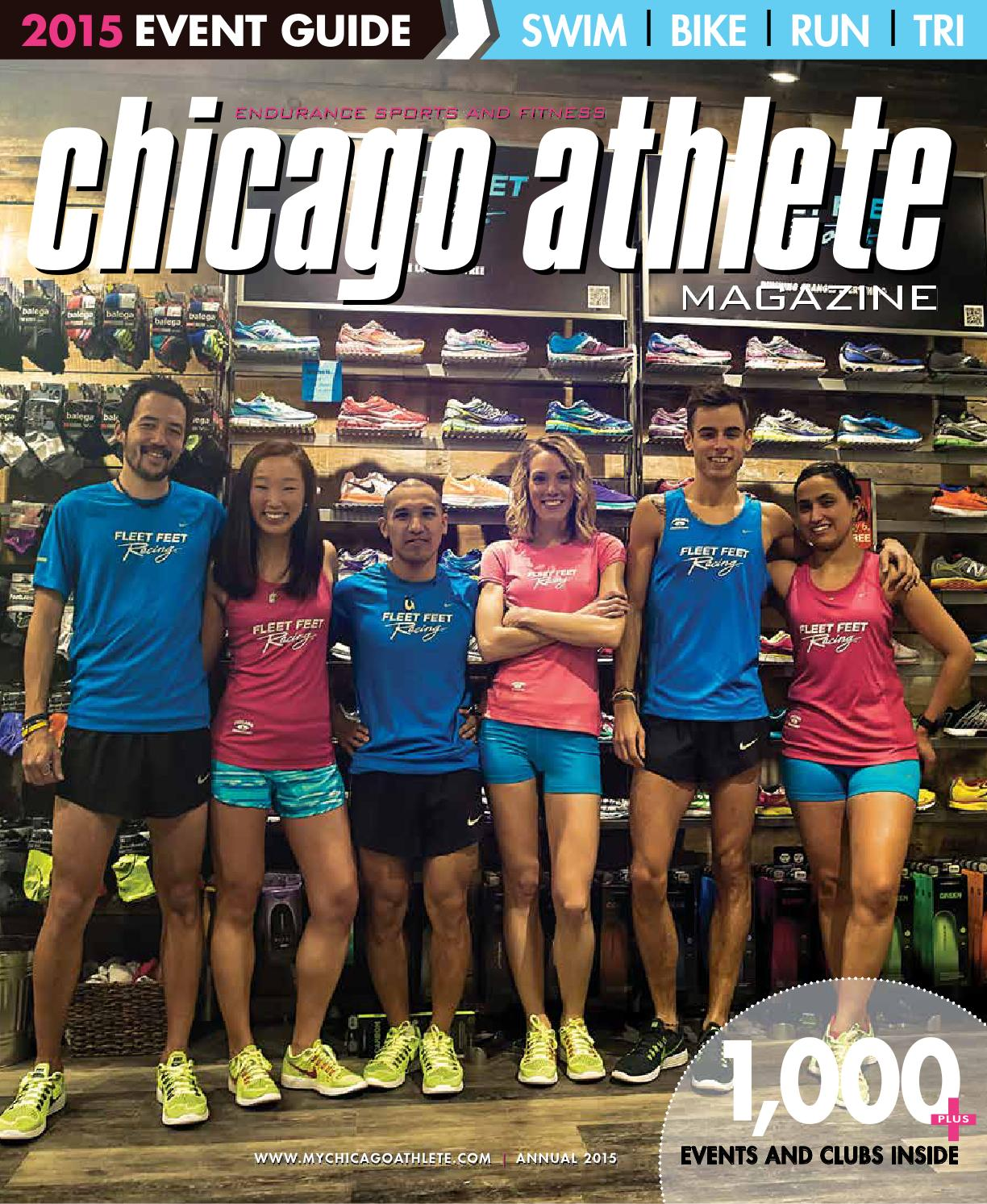 Chicago athlete magazine 2015 annual event guide by kelli l issuu.