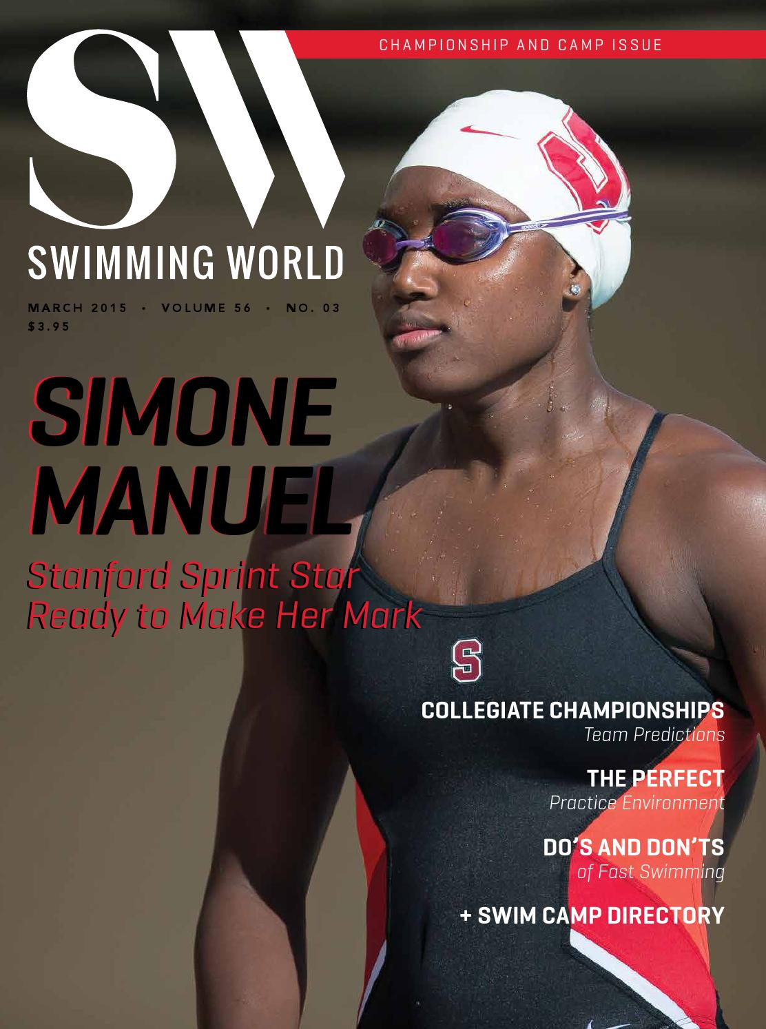 March 2015 Swimming World Magazine Online Edition By