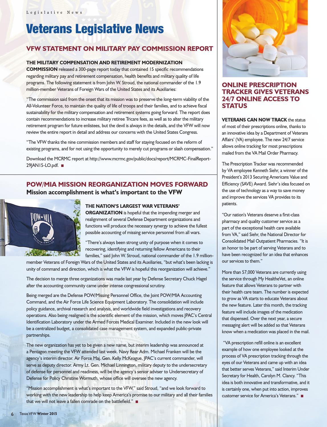 2015 texas vfw winter news issuu by MediaNation - issuu