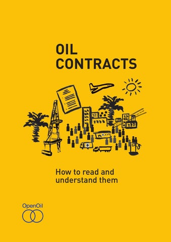 Oil Contracts By Jorge F Acevedo Issuu
