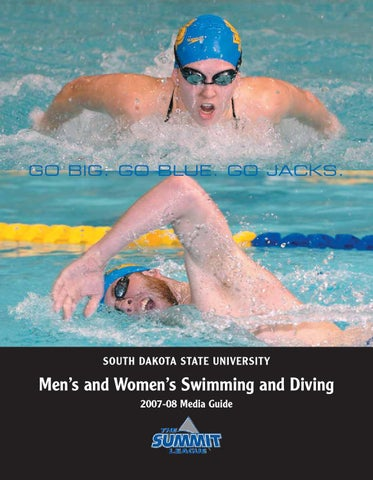 38bed6eb397 2007 08 swim media guide by South Dakota State University Athletics ...