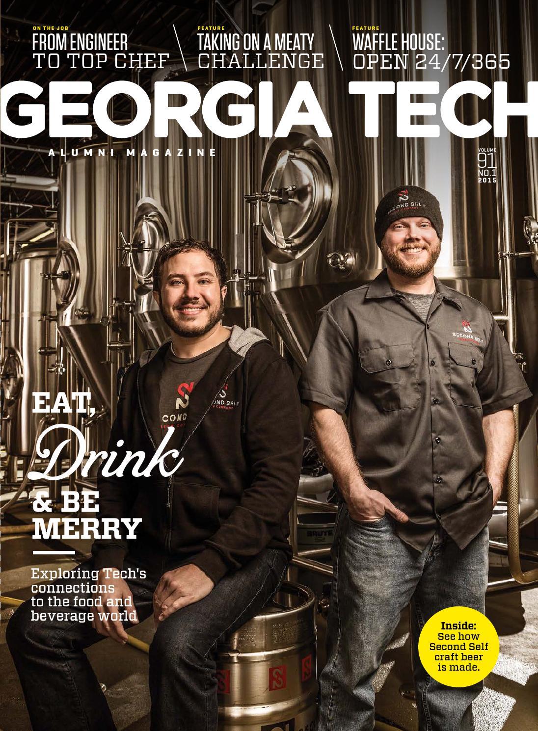 Georgia Tech Alumni Magazine, Vol. 91 No. 1 2015 by Georgia Tech ...