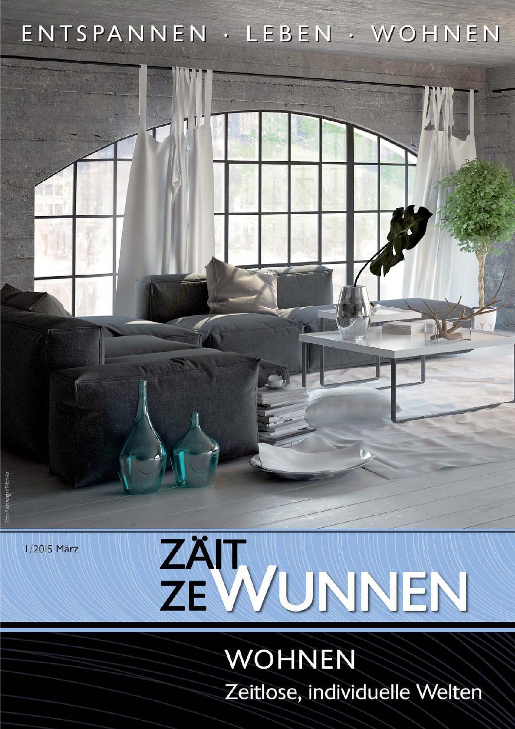 Zäit ze wunnen - 2015-1 by Editions CKK - issuu