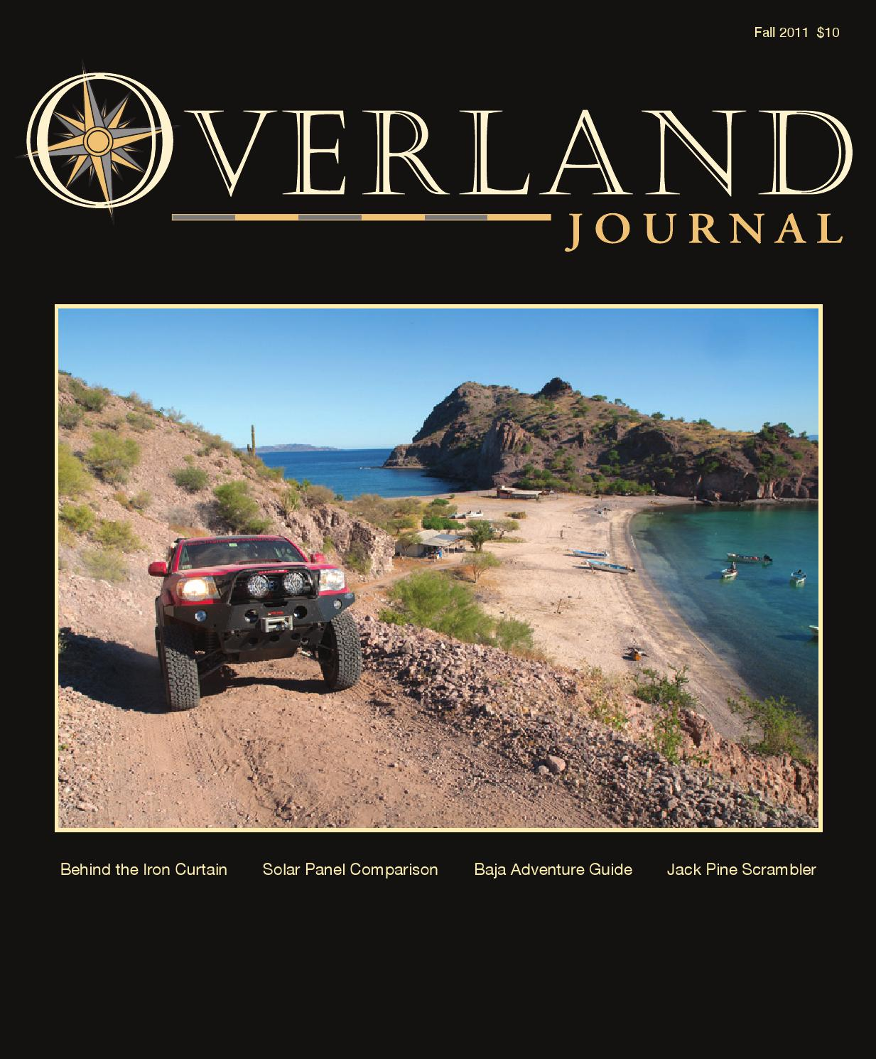 Overland Journal Fall Issue 2011 by Overland Journal - issuu