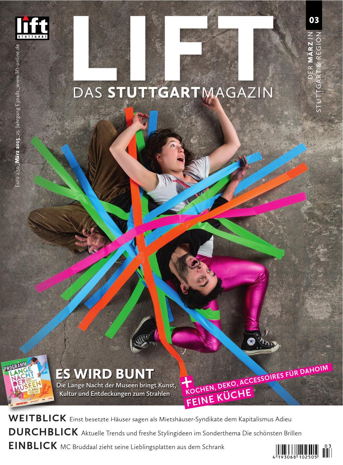 LIFT Stuttgart - Leseprobe März 2015 by LIFT Das Stuttgartmagazin ...