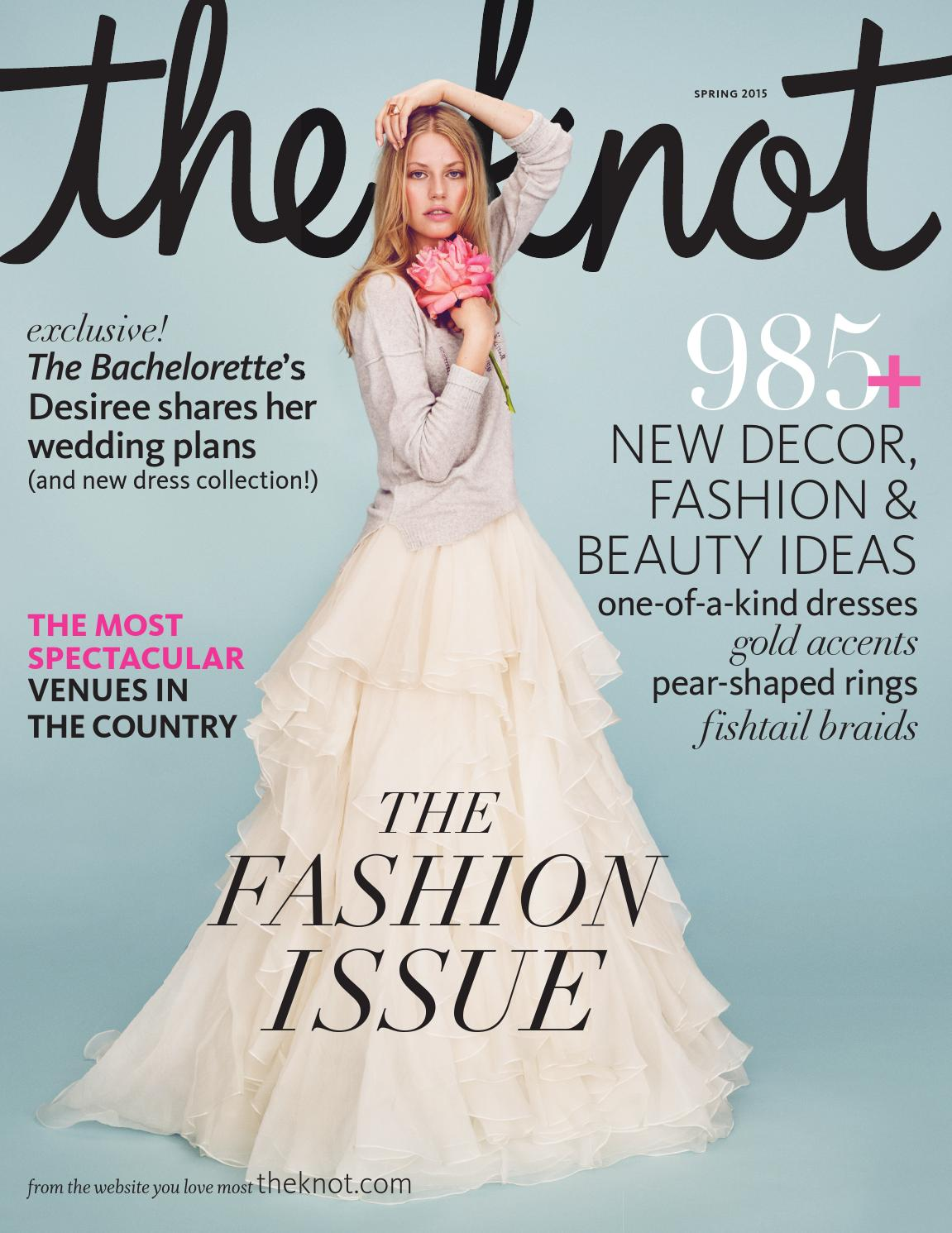 The Knot Spring 2015 by The Knot - issuu