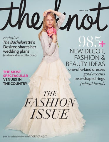 The Knot Spring 2015 by The Knot - issuu c300a8b90452
