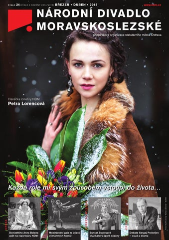 Časopis NDM – březen duben 2015 by Národní divadlo moravskoslezské ... 3647e77832