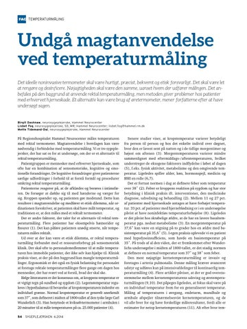 rektal temperaturmåling