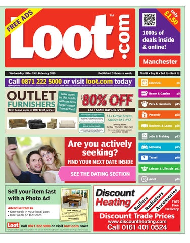 c9f7bf86b Loot Manchester, February 18th 2015 by Loot - issuu