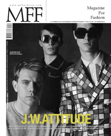 MFF J.W. Attitude by Class Editori - issuu fb29b3e31c3d