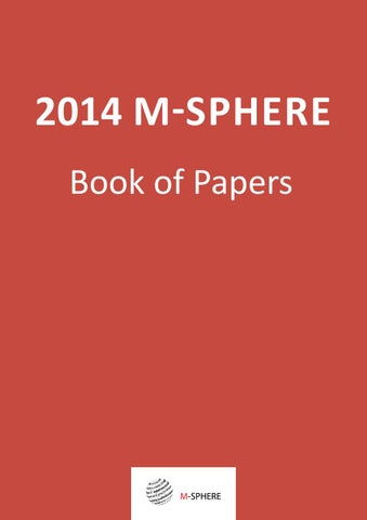 2014 m sphere book of papers by tihomir vranesevic issuu page 1 fandeluxe Image collections