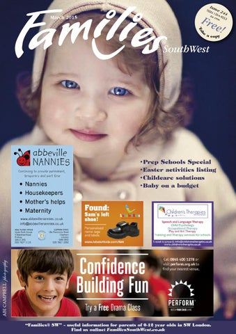 2ab730a71d76 Families London SW Issue 244 2015 by Families Magazine - issuu