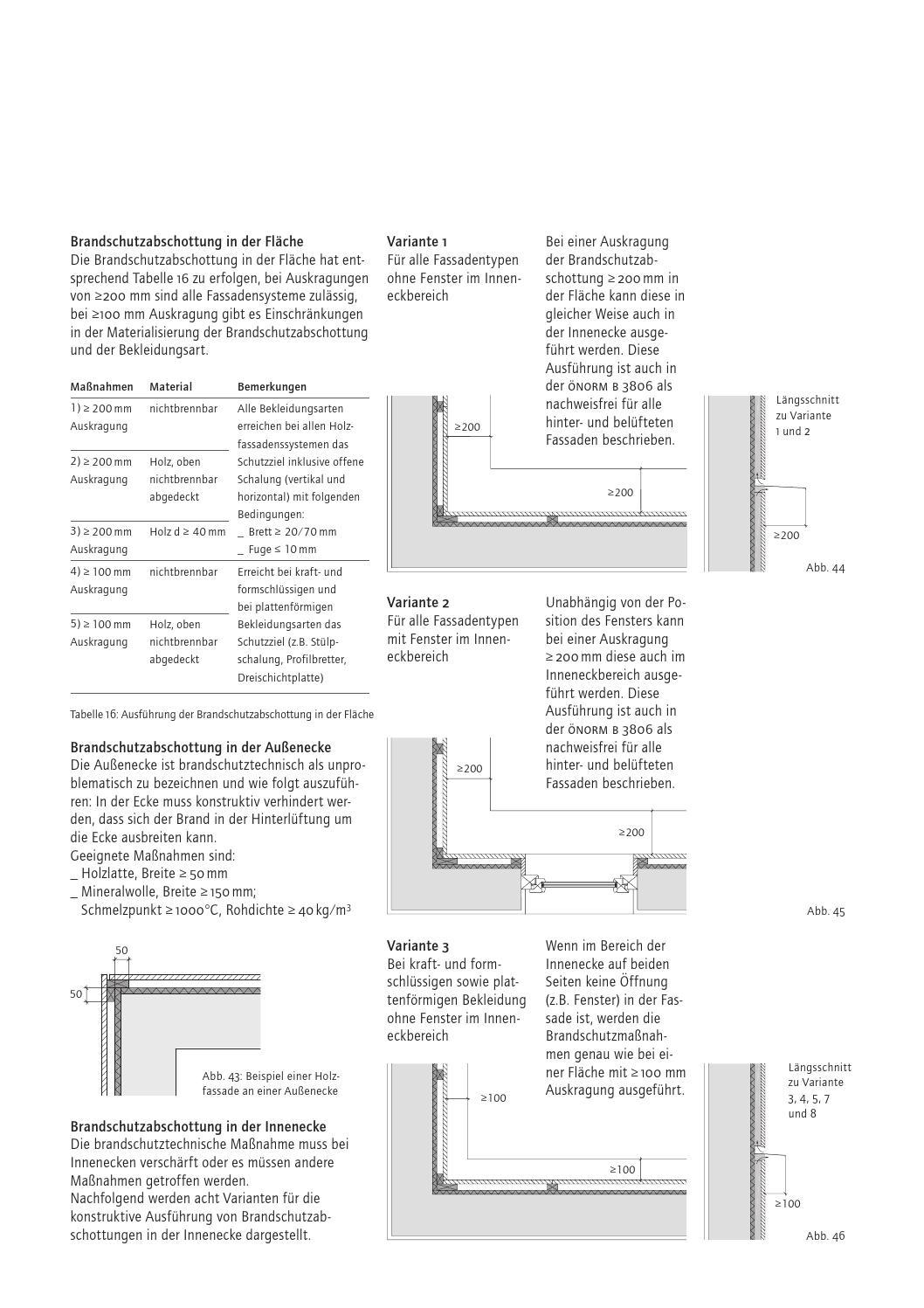 Bevorzugt Fassaden aus Holz (proHolz Austria) by DETAIL - issuu NS34