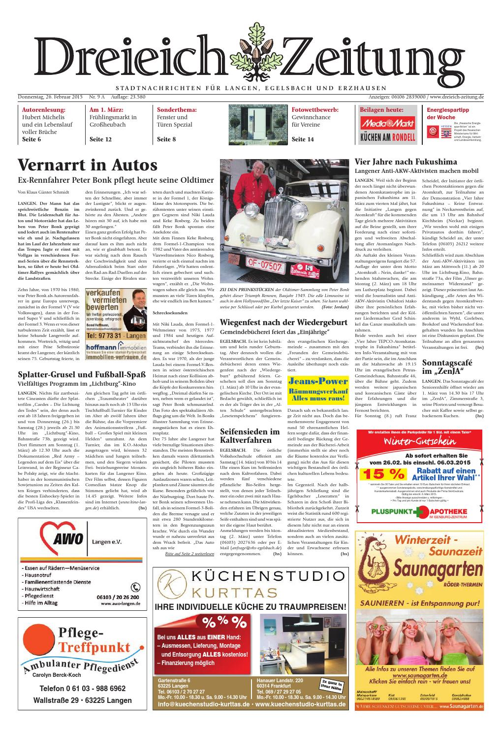 Dz online 009 15 a by Dreieich-Zeitung/Offenbach-Journal - issuu
