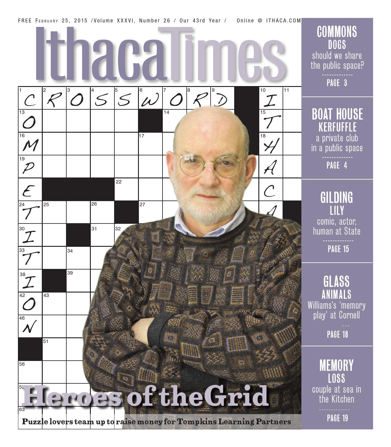 February 25 2015 By Ithaca Times