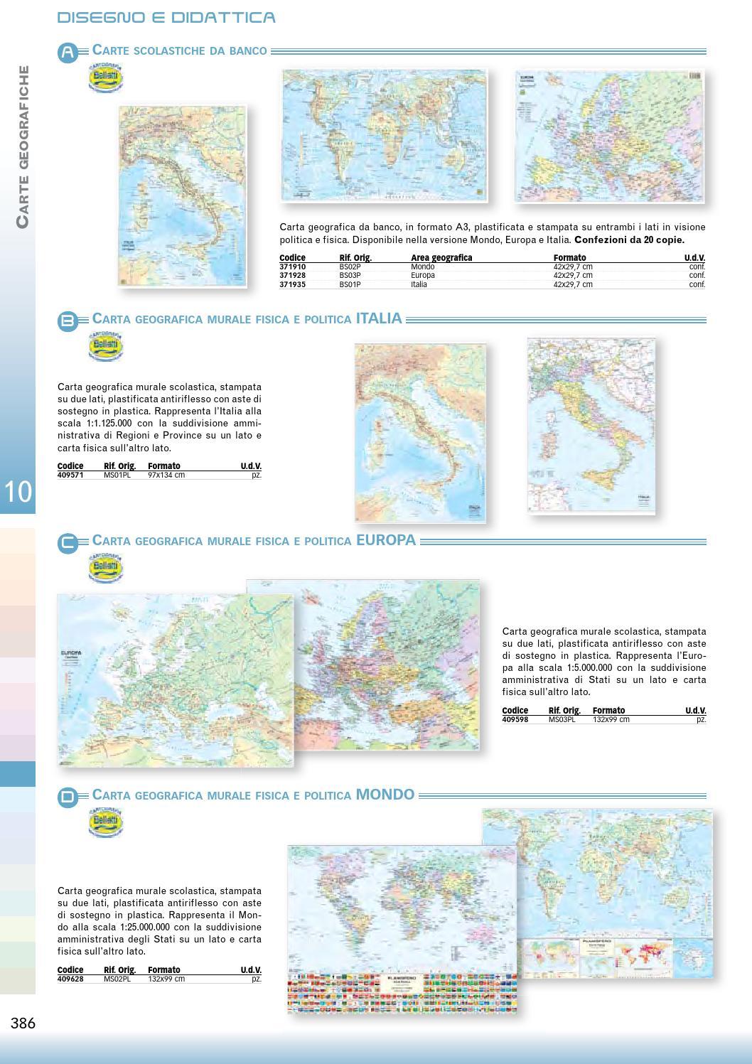 Cartina Politica Italia Formato A3.Catalogo Cancelleria 2015 By Domenico Nasso Issuu