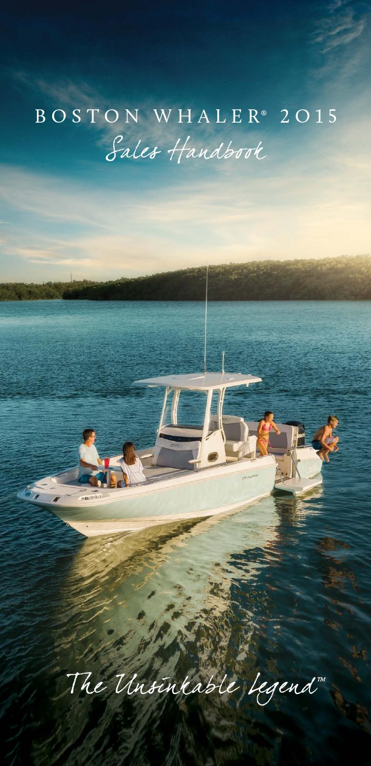 Boston Whaler Product Guide 2015 by Dino Marketing Group - issuu