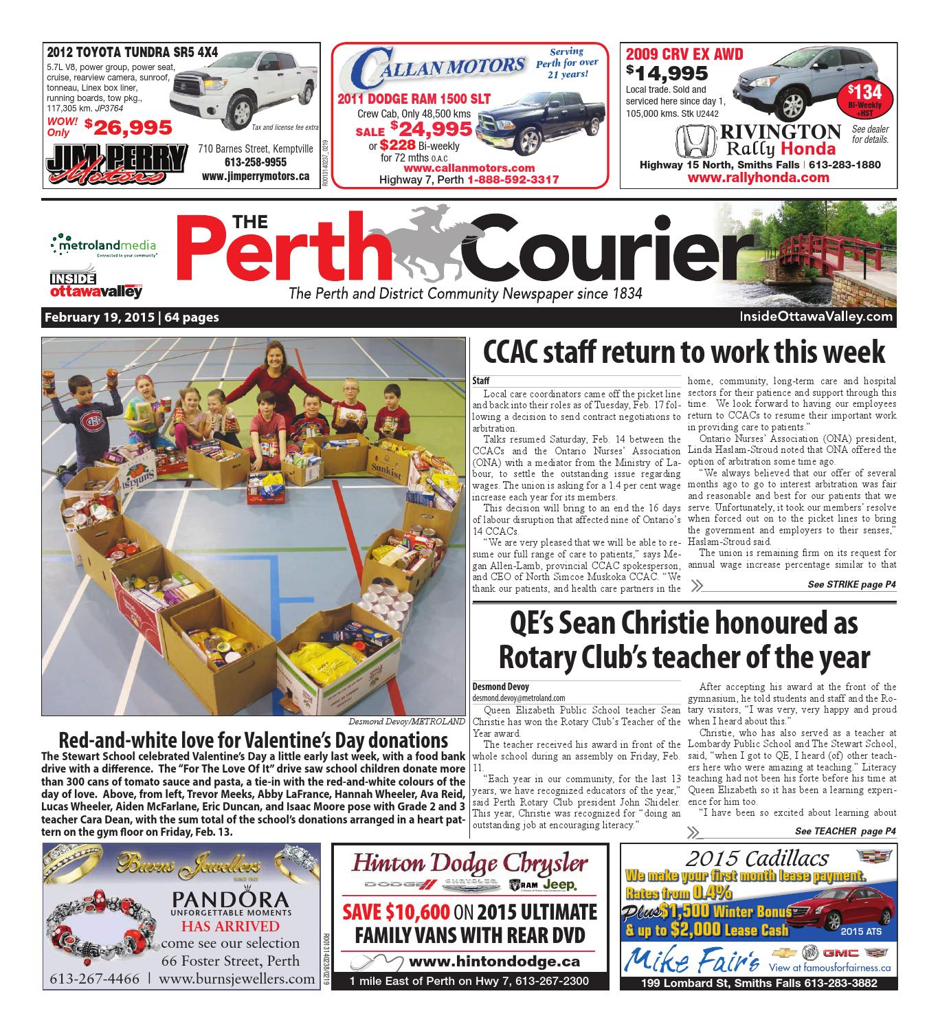 Perth021915 by Metroland East - The Perth Courier - issuu 7e63a4d77