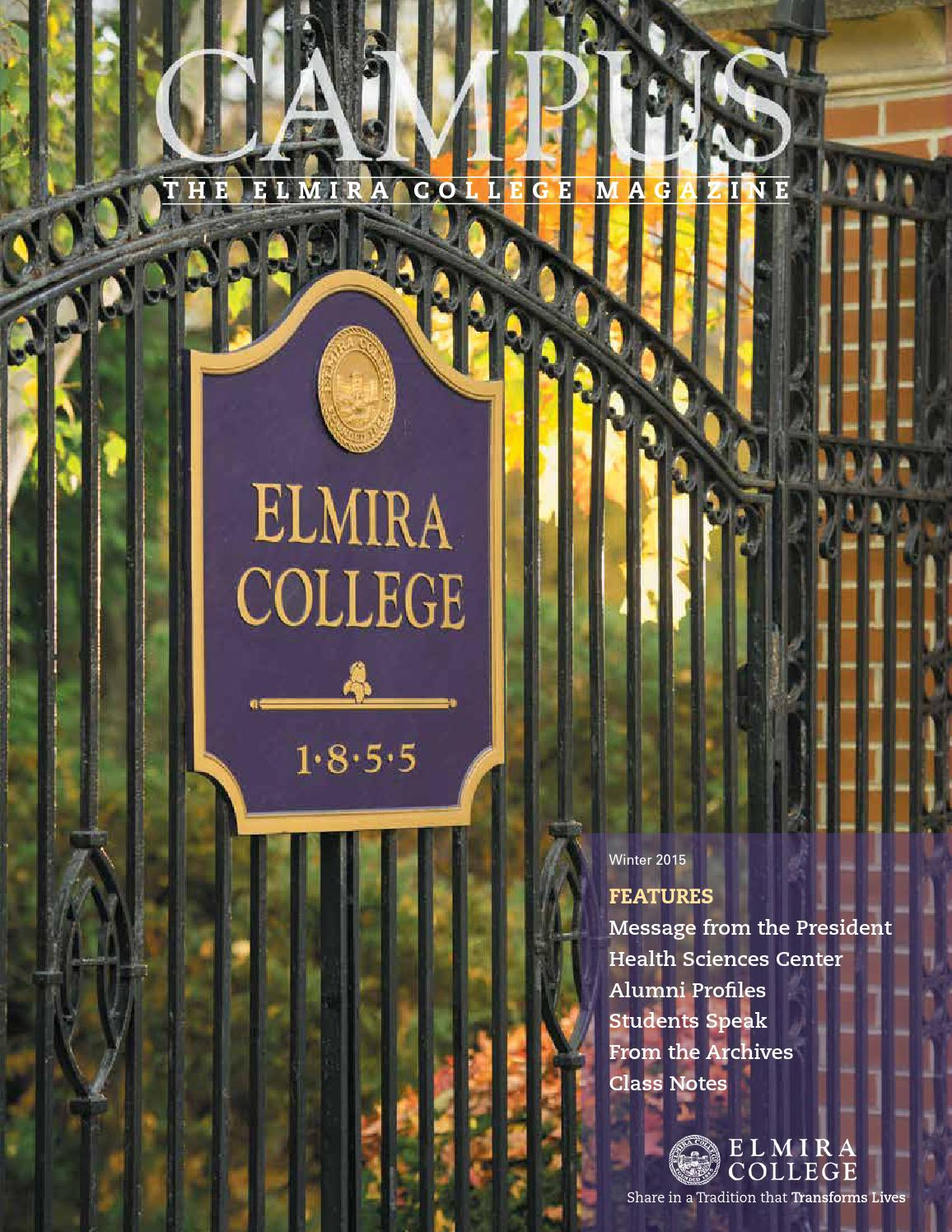 Campus The Elmira College Magazine Winter 2015 By How To Tie A Double Windsor Knot Diagram Pictures 1 Issuu