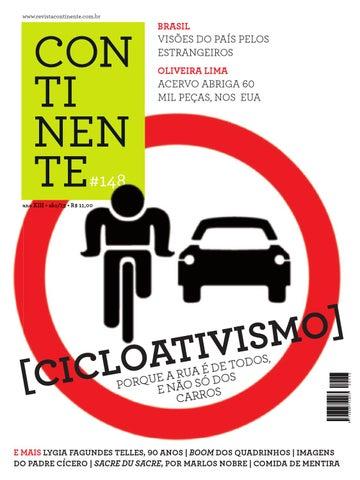 Continente  148 - Cicloativismo by Revista Continente - issuu 7dc3c274a6