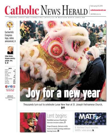 Feb 27 2015 By Catholic News Herald