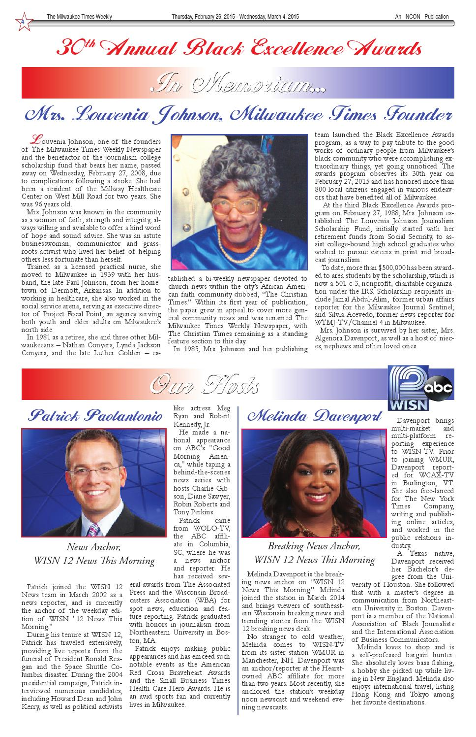 Be paper 2 26 15 by Milwaukee Times News - issuu