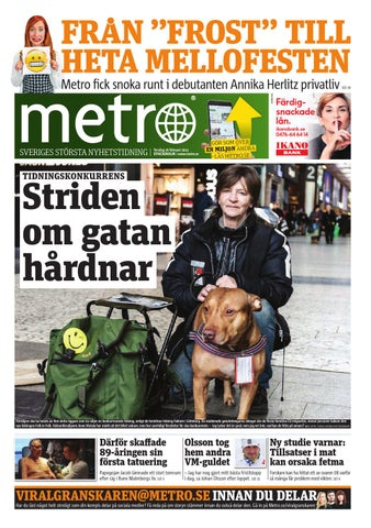 new arrival 42589 f476a 20150226 se stockholm by Metro Sweden - issuu