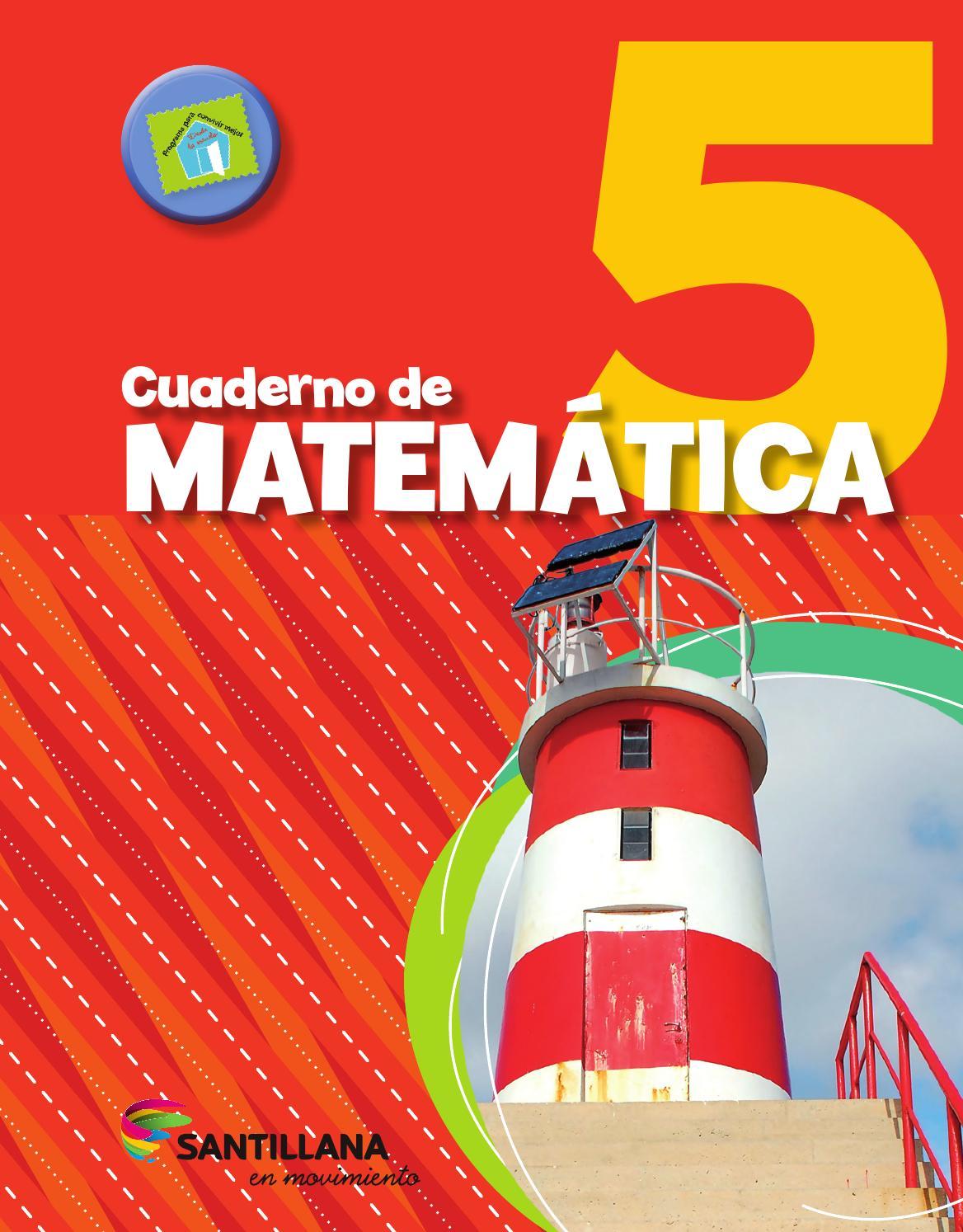 Cuaderno de matematica 5 by María Candelaria Pagella - issuu