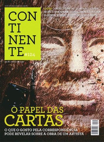 Continente  124 - O papel das cartas by Revista Continente - issuu 2a999ac6c6