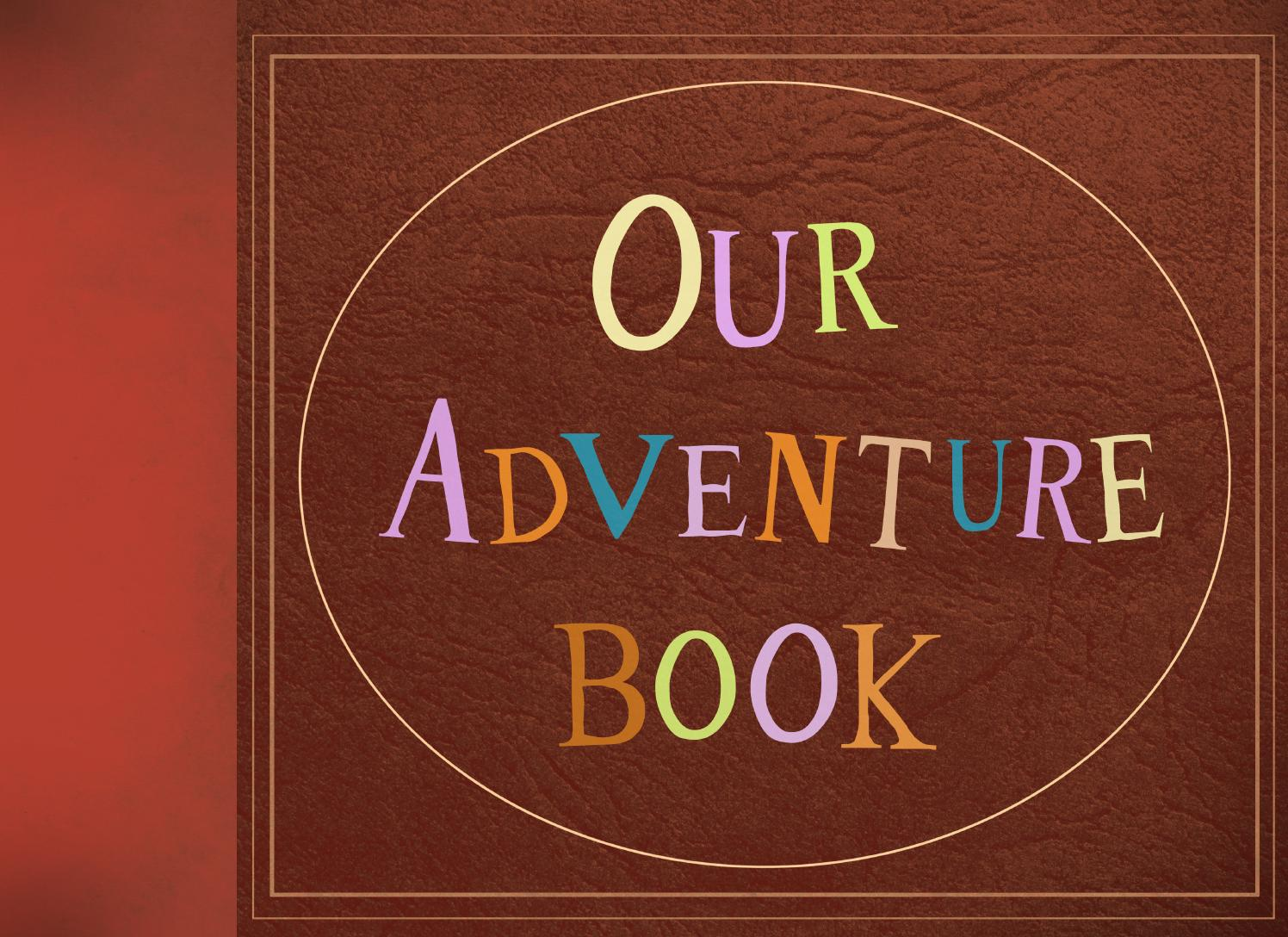 My Adventure Book Printable Cover ~ Our adventure book