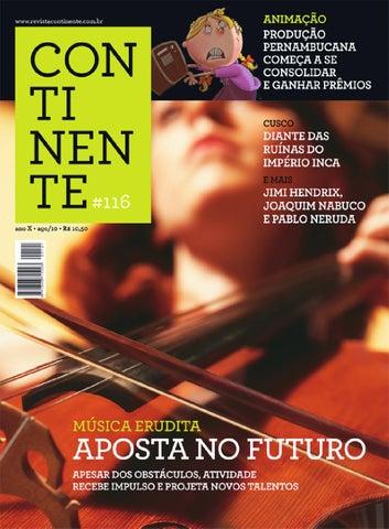 15115c8d6f4 Continente  116 - Música erudita  aposta no futuro by Revista ...