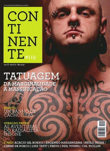 76fa408f6 Continente  119 - Tatuagem by Revista Continente - issuu