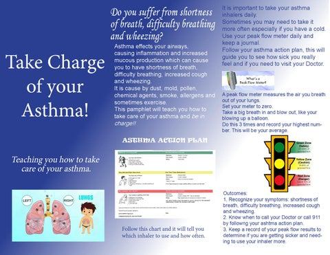 Asthma patient brochure related keywords asthma patient for Asthma brochure template