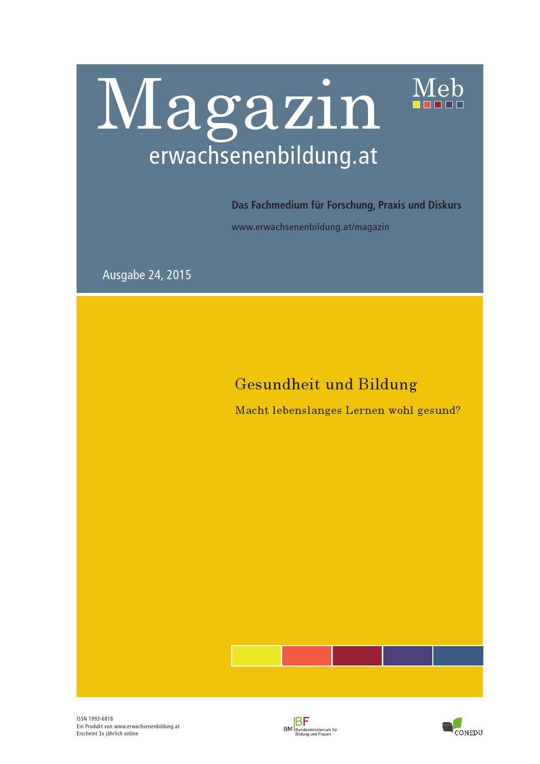 Magazin erwachsenenbildung.at - Ausgabe 24, 2014 by ...