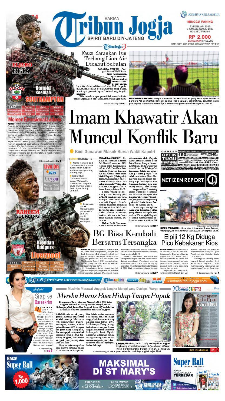Tribunjogja 22 02 2015 By Tribun Jogja Issuu Produk Ukm Bumn Box Hantaran Pengantin Bio Art
