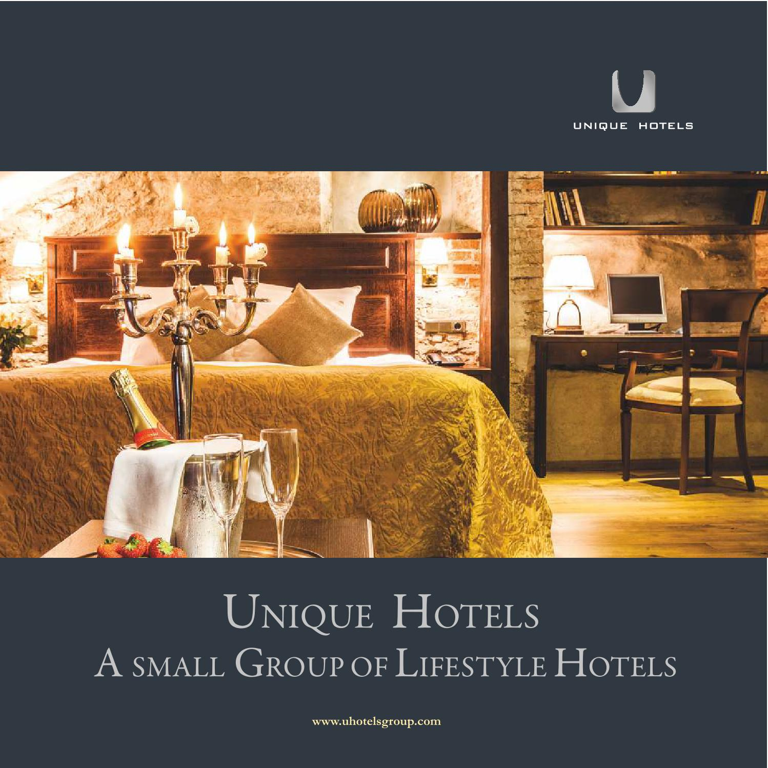 Unique hotels group by unique hotels group issuu for Novelty hotel