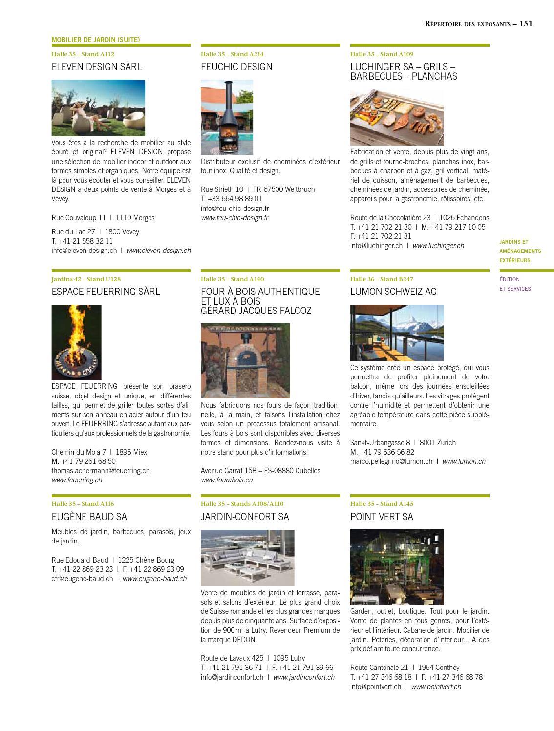 Prix Cheminee Exterieur Feu Chic Design habitat-jardin 2015 magazineinédit publications sa - issuu
