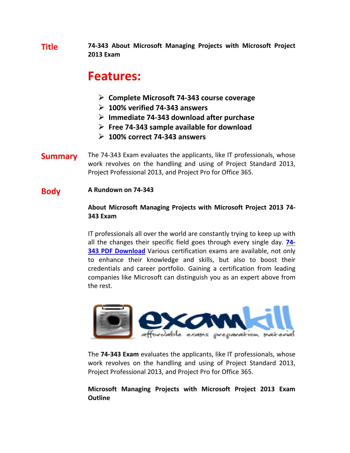 74 343 exam questions answers by darren issuu 1betcityfo Images