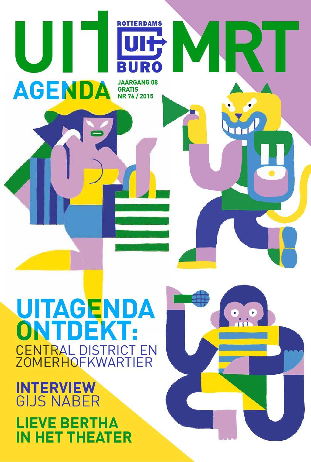 Uitagenda maart 2015 by rotterdam festivals issuu for Uit agenda rotterdam